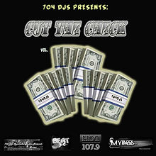 Dj Nothin Nice Cut The Check Promo Cover from Nothin Nice Designs