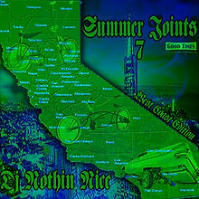 Dj Nothin Nice Summer Joints 7 Promo Cover from Nothin Nice Designs