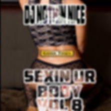 Dj Nothin Nice Sexin Ur Body Vol 8 Promo Cover by Nothin Nice Designs
