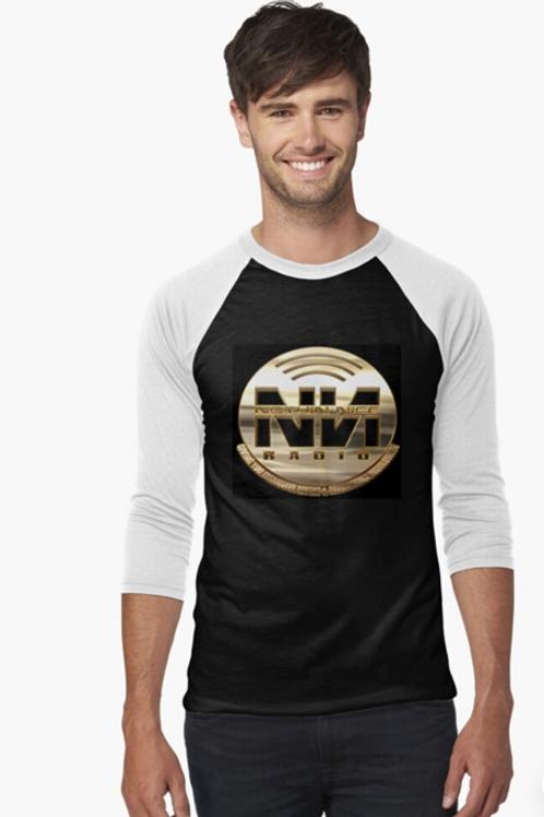 Nothin Nice Radio Merch Baseball ¾ Sleeve T-Shirt