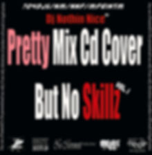 Dj Nothin Nice Cover for Pretty Mix Cd Cover But No Skillz Vol 1 Mix Cd
