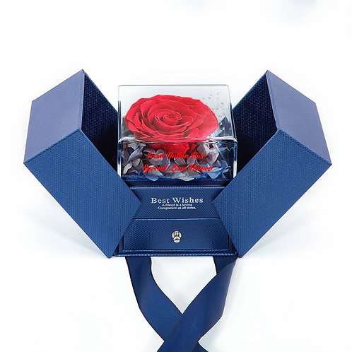 Team Nothin Nice Special Love  Flower Jewelry Box
