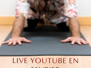 Yoga live Youtube février 2021