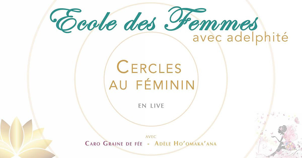 Affiche des cercles de femmes