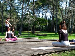 Yoga en plein air à Montpellier (samedi 13/03)