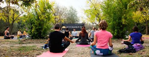 15 octobre 2017 - Yoga à Méric