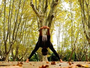 Cours de Yoga au parc Rimbaud (03/04)