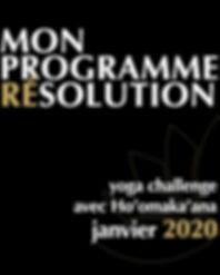 Mon Programme Résolution 2020
