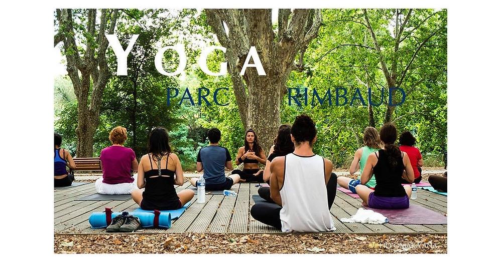 Yoga Dimanche plein air Montpellier HMK Yoga