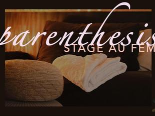 Stage-Formation au Féminin : Parenthesis
