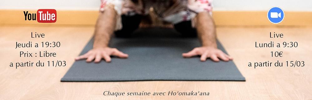 yoga zoom youtube hoomakaana