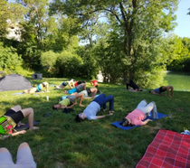 27-28 Mai 2017 - Séance Yoga à la sortie Sub24