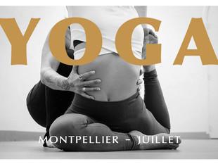 Yoga au studio HMK - juillet