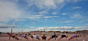 4 juin 2017 - Yoga à la plage de l'Espiguette