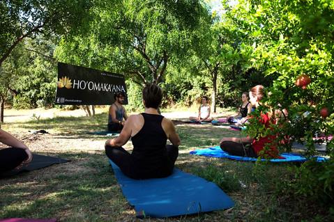 8 septembre 2018 - Yoga à Méric