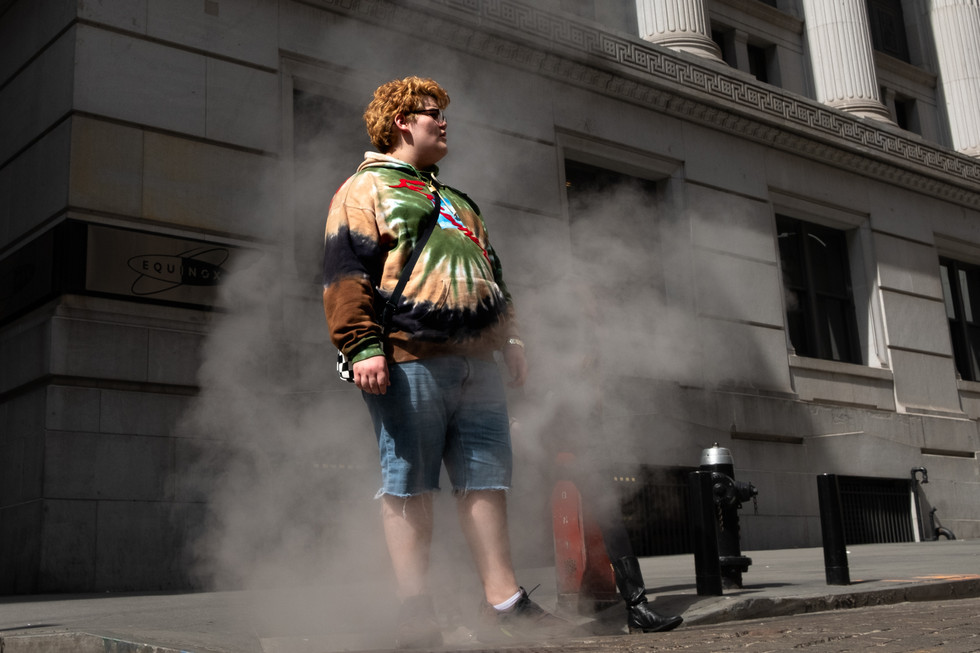 AA Street Photography Steamy Magic