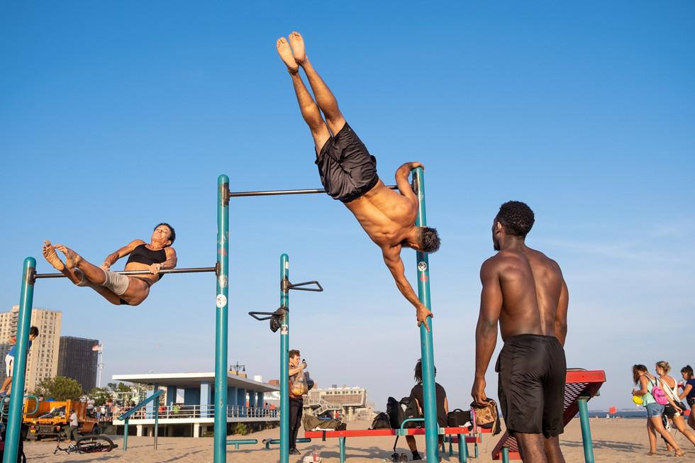 Beach_8_Coney Island Acrobats.jpg