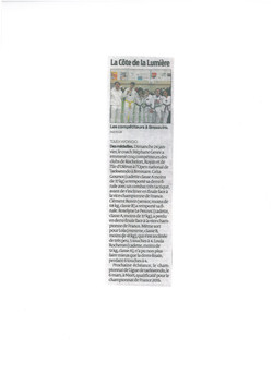 ARTICEL SUD OUEST BRESSUIRE