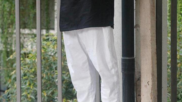 White Kurta Pants