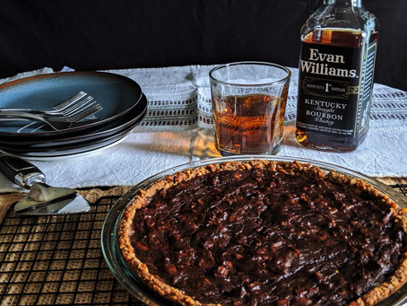 Memorial day special : Salted caramel Kentucky pie