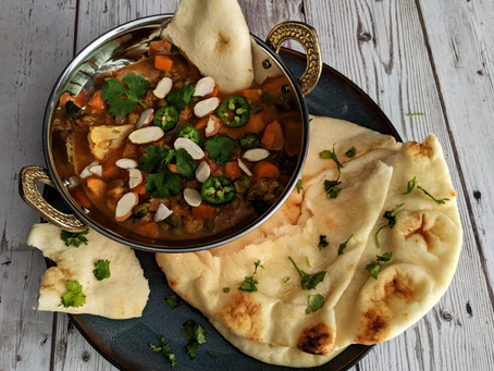 Vegetable Balti curry