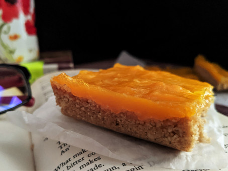 Gluten free mango bars