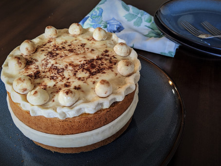 Simnel cake for Easter Sunday