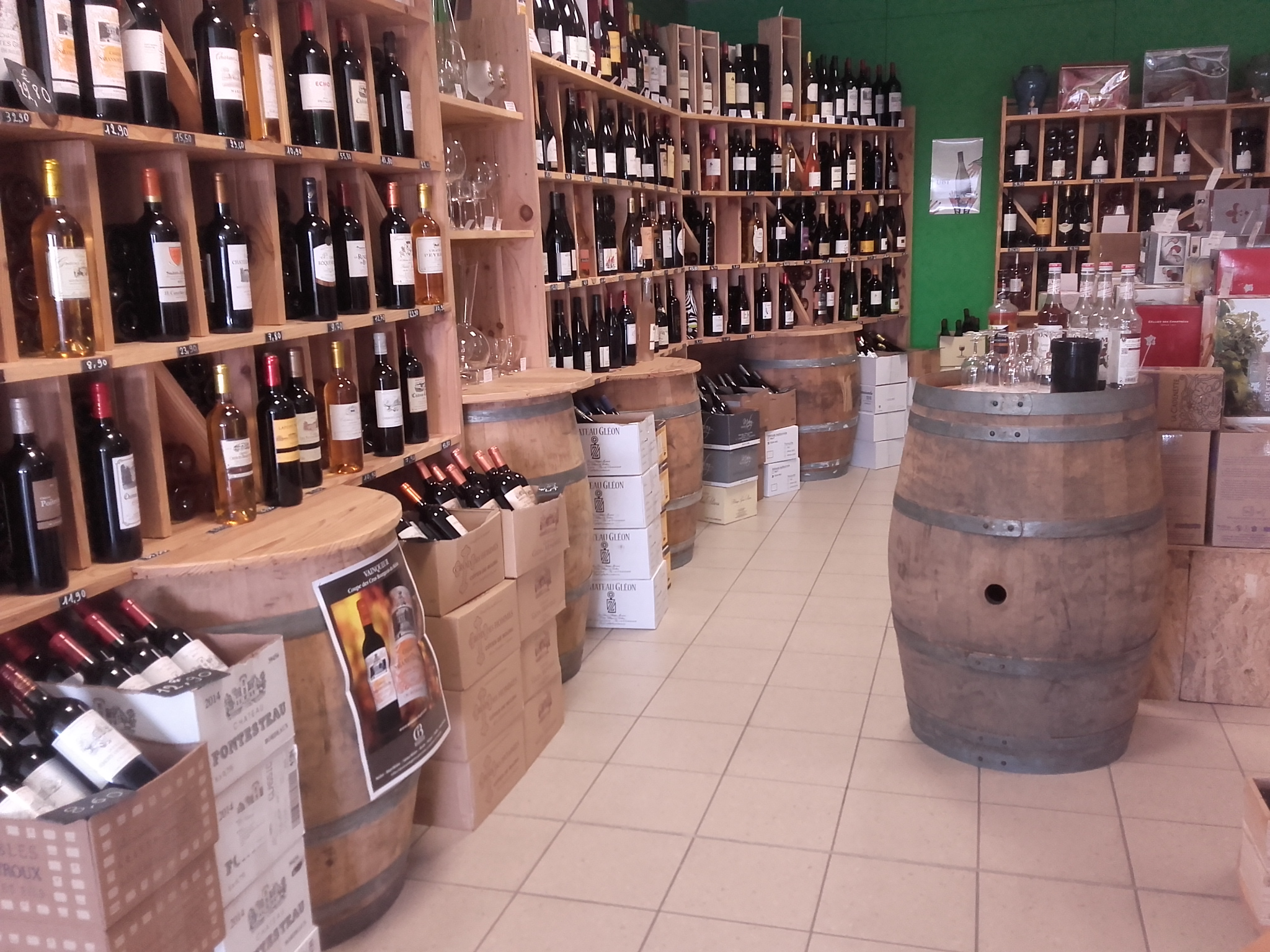 Vins de la cave de l'authion