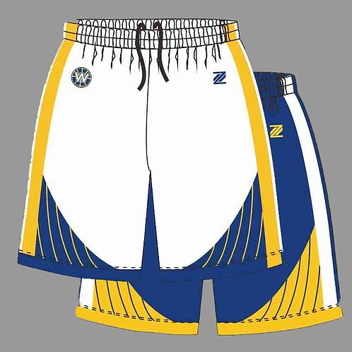 Warriors Reversible Playing Shorts