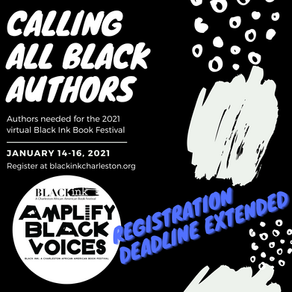 Featured Author Registration Extended to Jan. 4, 2021