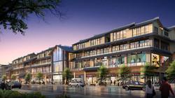Handan Gateway street perspective