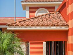 South Hills Plaza paint design