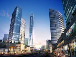 Tianjin Jinzhong City skyscrapers