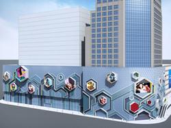 Chengdu Chunxi Plaza facade design