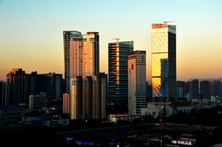 Shiajiazhuang Lerthai Center towers
