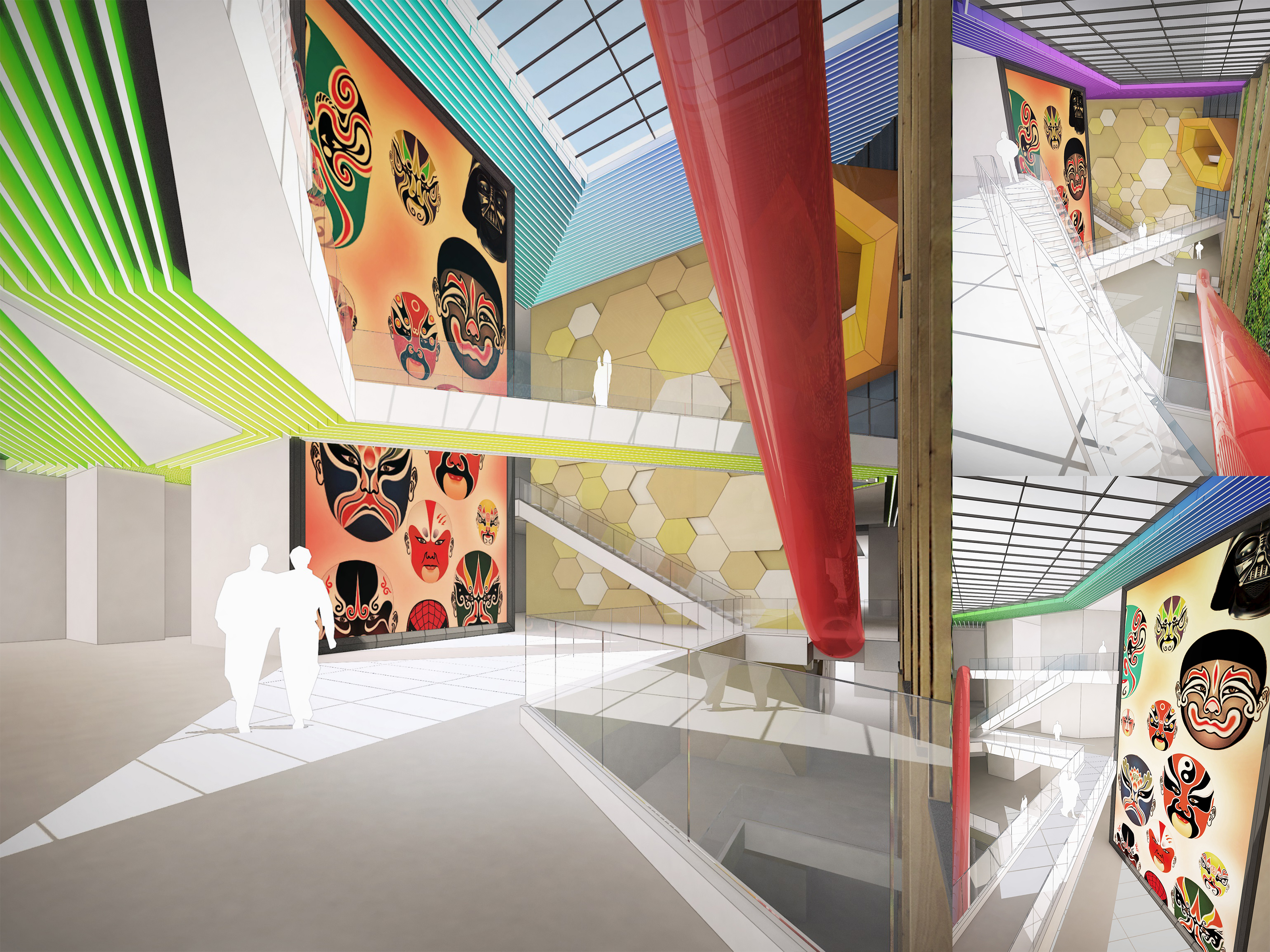 Chengdu Chunxi Plaza interior design