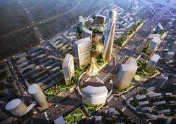 Tianjin Jinzhong City aerial view