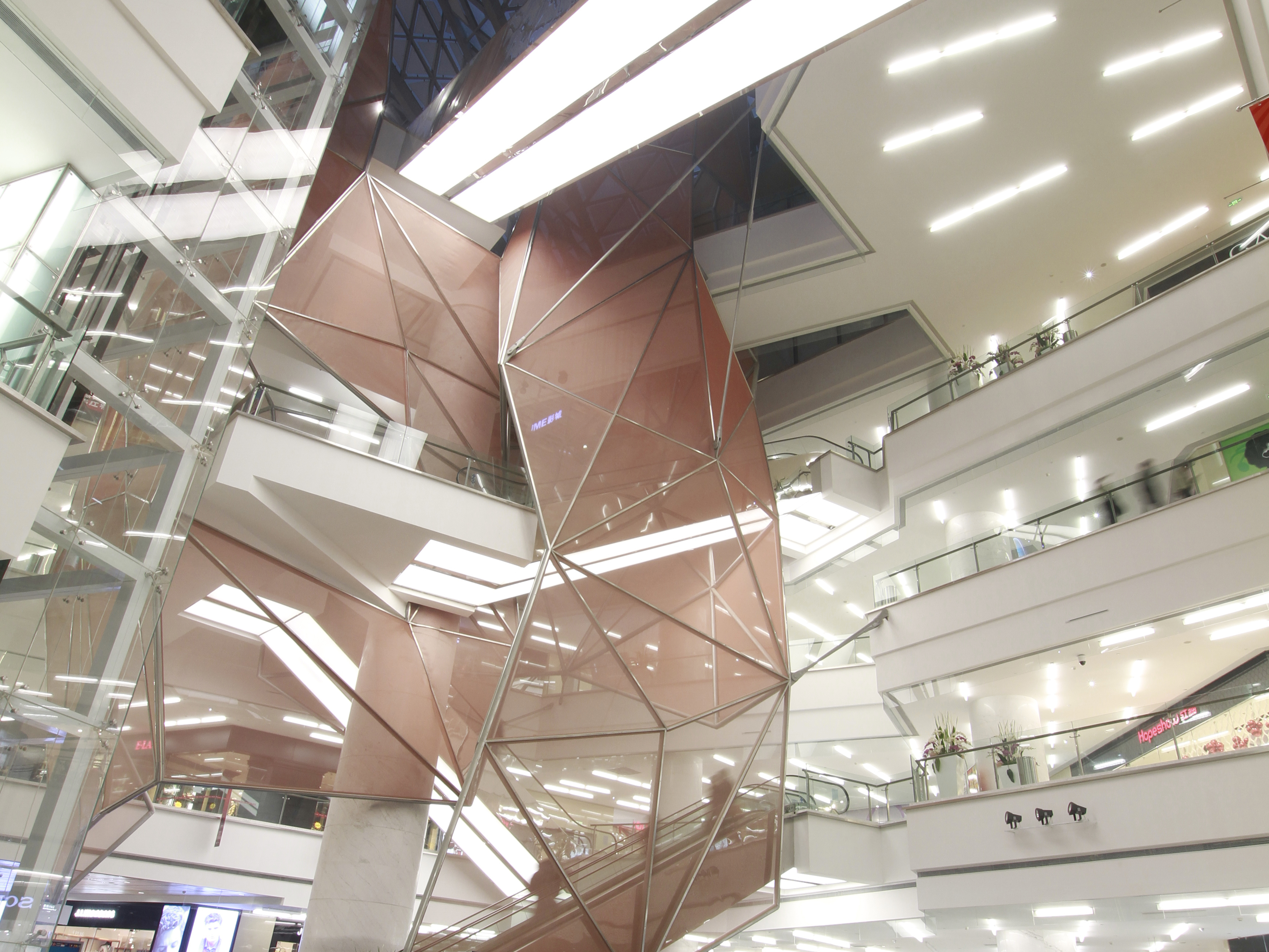 Shiajiazhuang Lerthai mall interior