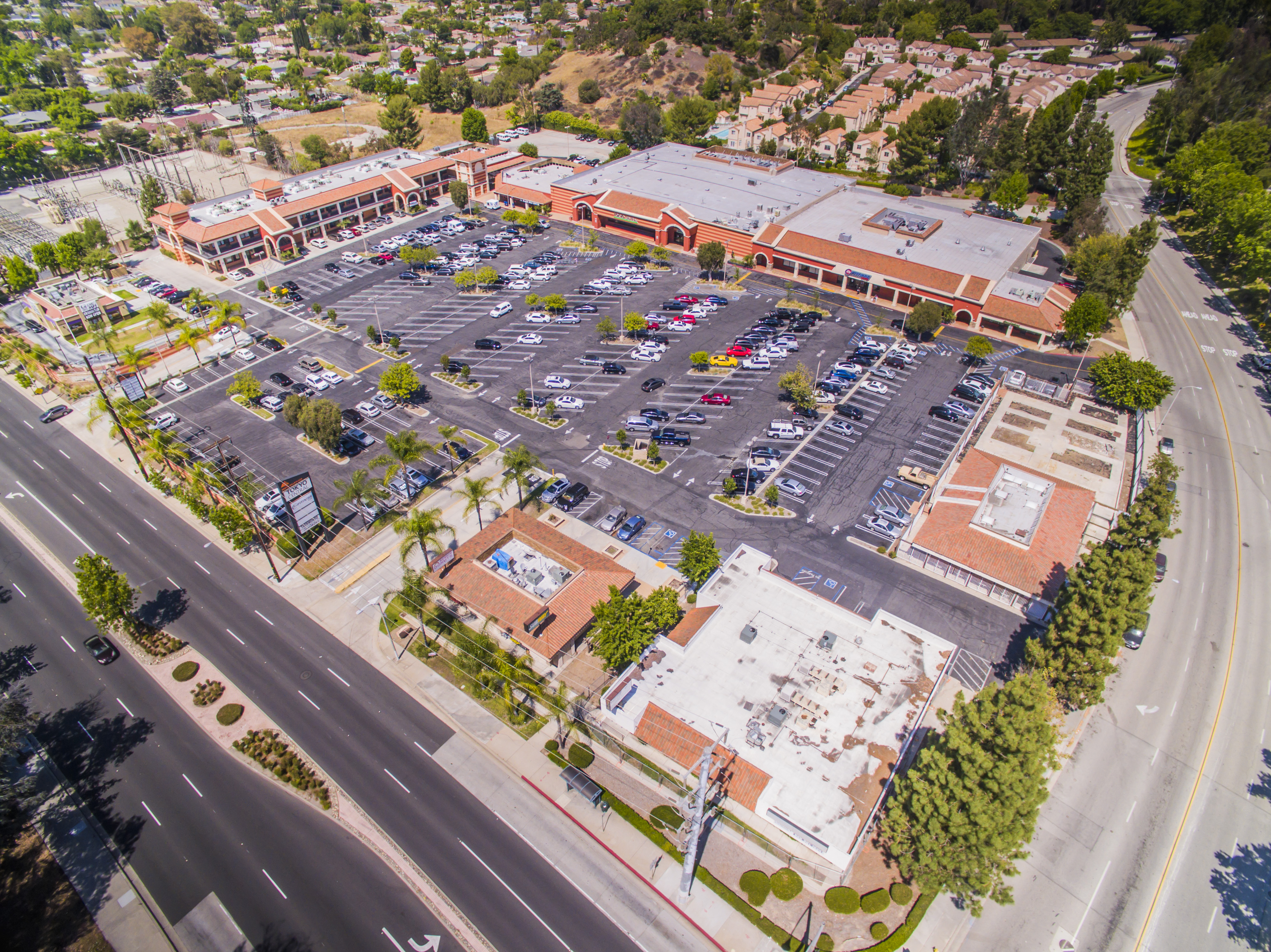 South Hills Plaza aerial