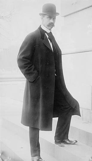 Senator Reed Smoot (UT) on the steps of Congress