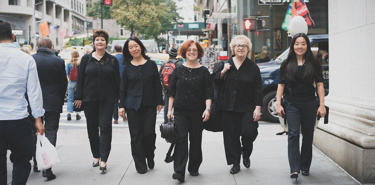NY Chamber Music Coop, Adrienne Kim, Adria Benjamin, Lisa Tipton, Lia Kozenko, Tomoko Fujita