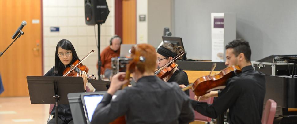 "Premiere of ""Reminiscentia"" by the Dynamix String Quartet"