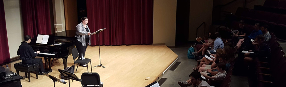 "Samantha Stiner and Greg DiBona performing ""Seasons"""