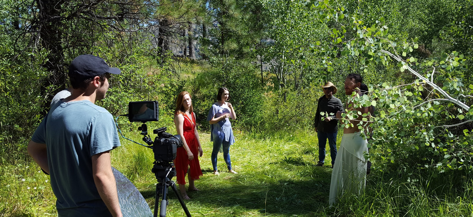 "Filming ""Mountains and Rivers"""