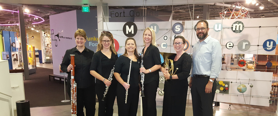 With the Classical Revolution Woodwind Quintet