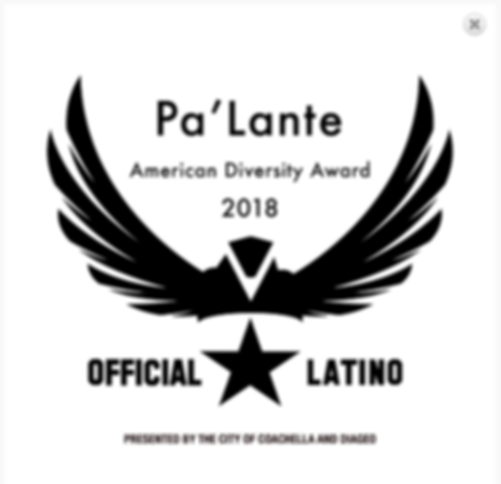 Official Latino Film Palante Oct 9 2018.