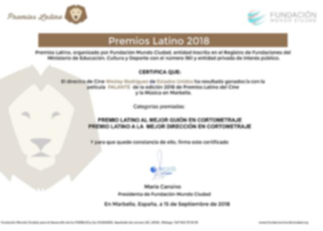 Premios Latino Marbella Sept. 15 2018.pn
