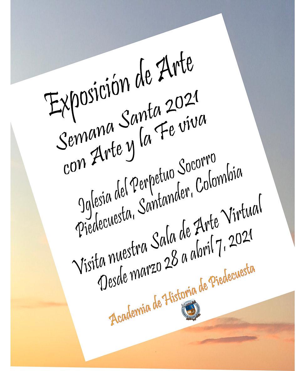 Academia March-28-2021 COVER Arte y Fe V