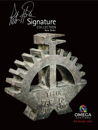 Peter Hook 2021 V1 Catalogue with personal dedication