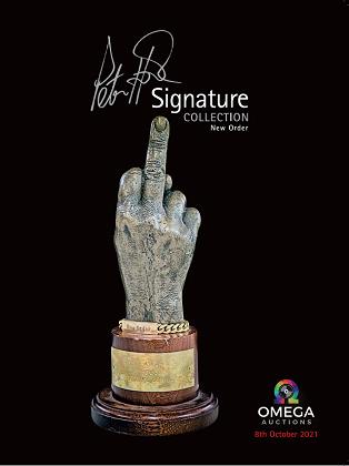 Peter Hook 2021 V2 Catalogue - Signed
